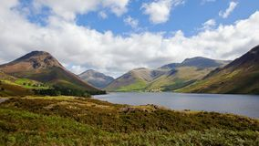 District principal Angleterre de lac Wasdale Photo libre de droits