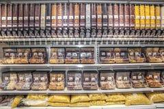 District or shelf bulk Stock Photos