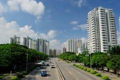 district shenzhen futian image stock