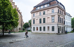 District of st nicholas berlin germany europe Stock Photography