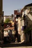 District van Balat Istanboel I Stock Fotografie