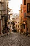 District van balat Istanboel II Stock Fotografie
