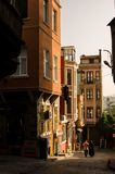 District van balat Istanboel III Royalty-vrije Stock Foto