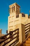 District van Madinat Jumeirah 3, 2013 in Doubai. Stock Foto's