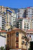 District van Monaco stock afbeelding