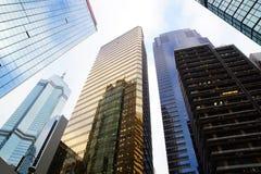 District Wan Chai. Hong Kong Stock Images