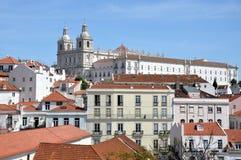 Distrito de Alfama de Lisboa Fotografía de archivo libre de regalías