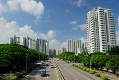 Districto de Futian, Shenzhen Imagen de archivo