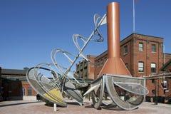 Districto de la destilería - Toronto, Canadá Fotografía de archivo libre de regalías