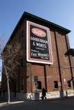 Districto de la destilería - Toronto, Canadá Foto de archivo libre de regalías