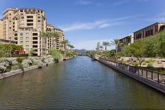 Districto de la línea de costa de Scottsdale Arizona Foto de archivo