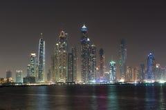 Districto de la parte alta de Dubai Imagen de archivo libre de regalías