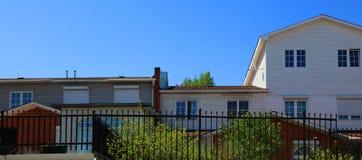 Districto de la vivienda Fotos de archivo libres de regalías