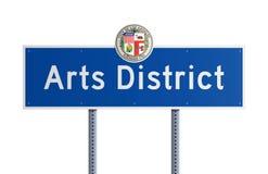 Districto de los artes ilustración del vector