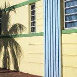Districto del art déco de Miami Imagenes de archivo