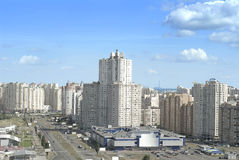 Districto del este de la ciudad de Kiev Foto de archivo
