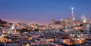 Districto del norte de la playa en San Francisco Fotografía de archivo libre de regalías