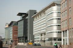 Districto financiero de Glasgow, Escocia, Reino Unido, Imagen de archivo