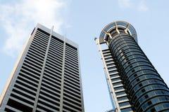 Districto financiero de Singapur Imagen de archivo libre de regalías