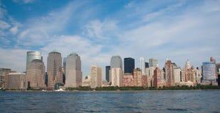 Districto financiero, New York City Imagen de archivo