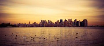 Districto financiero, Nueva York Fotografía de archivo libre de regalías