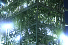 Districto industrial Foto de archivo libre de regalías