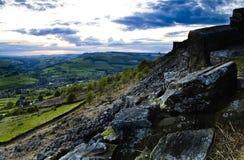 Districto máximo de Derbyshire Imagenes de archivo
