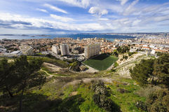 Districts of Marseille city, France. Districts of Marseille city Royalty Free Stock Photo