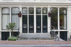 Distrito Amsterdão de Jordaan fotos de stock