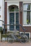 Distrito Amsterdão de Jordaan foto de stock