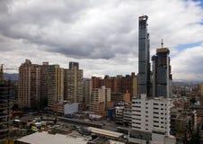 Distrito céntrico de Bogotá, Colombia Modernización del país en vías de desarrollo foto de archivo libre de regalías