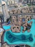 Distrito céntrico de Dubai, UAE Foto de archivo libre de regalías