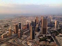 Distrito céntrico de Dubai, UAE Imagen de archivo libre de regalías