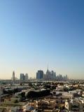 Distrito céntrico de Dubai, UAE Fotografía de archivo