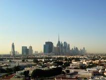 Distrito céntrico de Dubai, UAE Foto de archivo