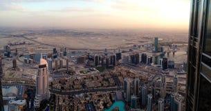 Distrito céntrico de Dubai, UAE Fotografía de archivo libre de regalías