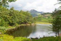 Distrito Cumbria Inglaterra Reino Unido do lago Blea Tarn entre grande Langdale e pouco Langdale Imagem de Stock