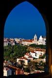 Distrito de Alfama - Lisboa Imagens de Stock