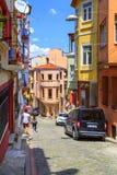 Distrito de Balat, Istambul, Turquia Imagem de Stock