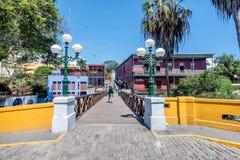 Distrito de Barranco em Lima, Peru fotos de stock royalty free