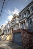 Distrito de Castro da casa de San Francisco fotos de stock royalty free