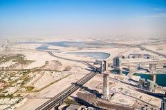 Distrito de Dubai Imagem de Stock Royalty Free