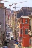 Distrito de Elmadag de Sisli, Istambul Foto de Stock Royalty Free
