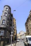 Distrito de Elmadag de Sisli, Istambul Fotos de Stock