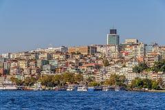 Distrito de Estambul Ortakoy Foto de archivo