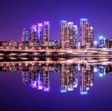 Distrito de Gangnam Imagens de Stock Royalty Free