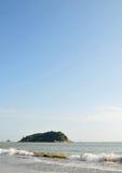 Distrito de Hou, ciudad de Shantou, provincia de Guangdong, paisaje costero imagen de archivo