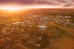 Distrito de Korumburra em Gippsland sul Fotografia de Stock Royalty Free