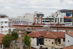 Distrito de Kulesi, centro da cidade de Antalya, Turquia Imagem de Stock