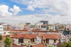 Distrito de Kulesi, centro da cidade de Antalya, Turquia Foto de Stock